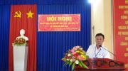 Mặt trận Tổ quốc Việt Nam phường Tân Quy Đông: tổ chức hội nghị sơ kết công tác 6 tháng đầu năm 2020