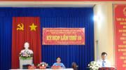 Hội đồng nhân dân phường Tân Quy Đông tổ chức kỳ họp lần thứ 10,  khóa XI, nhiệm kỳ 2016 - 2021