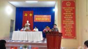 Hội đồng nhân dân phường Tân Quy Đông tổ chức kỳ họp lần thứ 11, khóa XI nhiệm kỳ 2016 - 2021