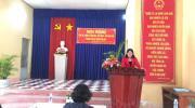 Phường Tân Quy Đông tổng kết công tác Dân vận, Mặt trận  và các đoàn thể năm 2020