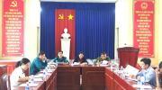 Hội đồng NVQS phường Tân Quy Đông tổ chức họp triển khai kế hoạch giải ngạch, kết nạp mới Lực lượng dân quân năm 2021