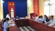 UBMTTQVN phường Tân Quy Đông tổ chức hội nghị hiệp thương lần 2 giới thiệu người ứng cử đại biểu HĐND phường, nhiệm kỳ 2021-2026