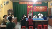 Phường Tân Quy Đông tổ chức hội nghị lấy ý kiến cử tri nơi cư trú đối với người ứng cử HĐND các cấp, nhiệm kỳ 2021-2026