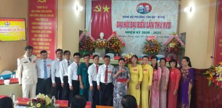 Đảng bộ phường Tân Quy Đông tổ chức Đại hội đại biểu lần thứ XVII, nhiệm kỳ 2020-2025