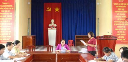 Thường trực HĐND phường Tân Quy Đông giám sát Ủy ban nhân dân phường về công tác quản lý thu – chi ngân sách nhà nước phường năm 2019 và Quý 1 năm 2020