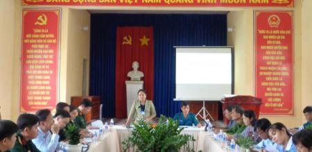 Hội đồng NVQS Phường Tân Quy Đông: xét duyệt nghĩa vụ quân sự lần 1 chuẩn bị thực lực tuyển quân năm 2021