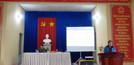 Phường Tân Quy Đông tổ chức Hội nghị Cán bộ, công chức năm 2021