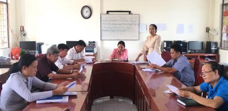 Phường Tân Quy Đông: Tổ chức hội nghị hiệp thương lần 3 để lựa chọn, lập danh sách những người đủ tiêu chuẩn ứng cử đại biểu HĐND phường, nhiệm kỳ 2021-2026