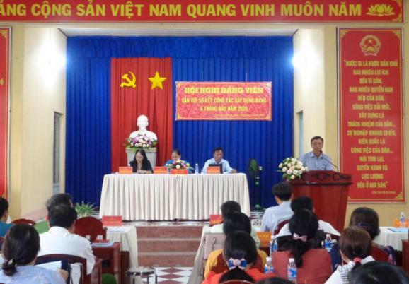 Đảng bộ phường Tân Quy Đông tổ chức hội nghị sinh hoạt định kỳ 6 tháng đầu năm 2020