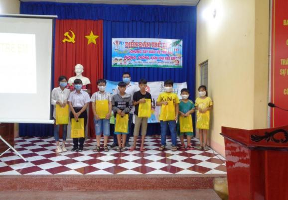Phường Tân Quy Đông: tổ chức diễn đàn trẻ em năm 2020